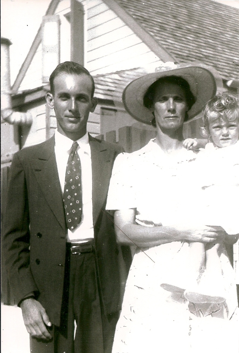 Grandma Bessie, Janet and Dad