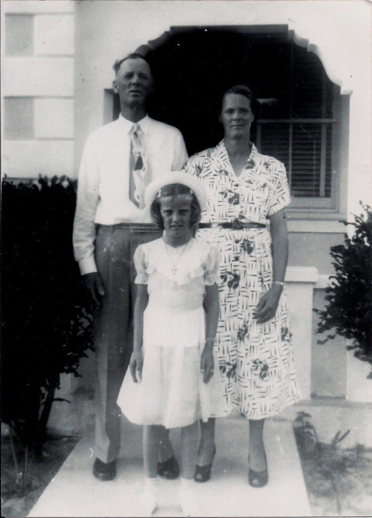 Grandma Bessie with Ashbourne Lowe and Janet