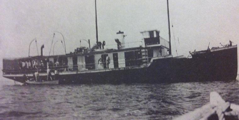 M/V Priscilla (photo courtesty of the Wyannie Malone Historical Museum)