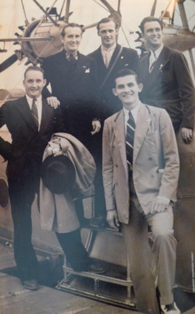 Warren Lightbourne and friends