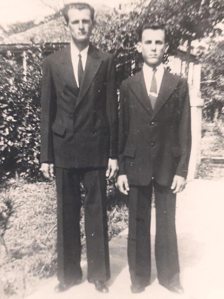 George (King) Pinder and Dad