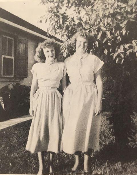 Iva and Alice Albury